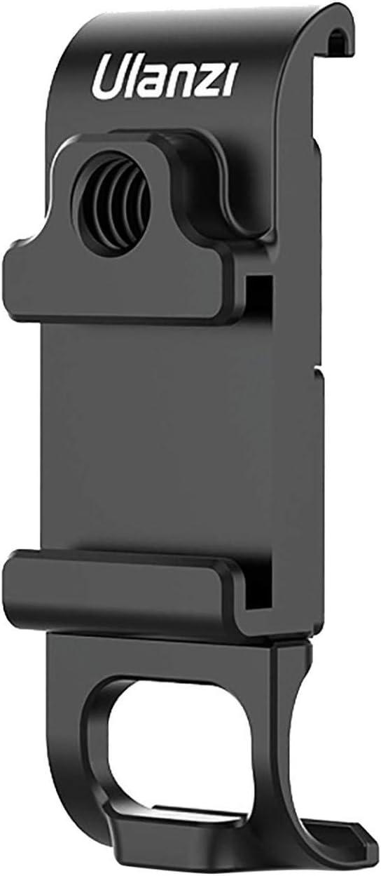 Akku Deckel Abnehmbarer Ladeanschluss Adapter Action Kamera Zubeh/ör JSxhisxnuid Aluminiumlegierung Batterie Abdeckung f/ür GoPro Hero 9