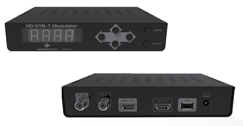 MODULATORE DIGITALE HD PER SKY E TELECAMERE PRESA HDMI PASSANTE 1080i/P DIPROGRESS