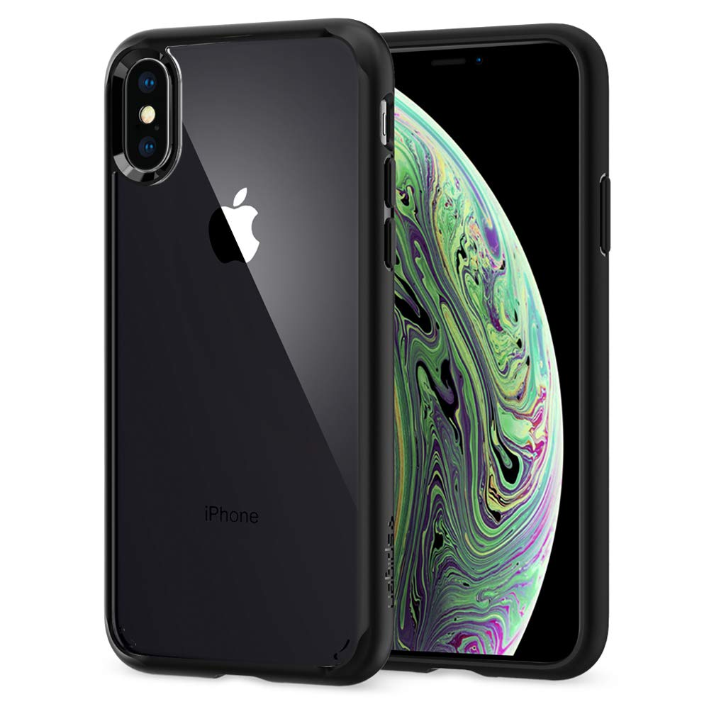 Funda Spigen iPhone X/xs [matte Black] Ultra Hybrid