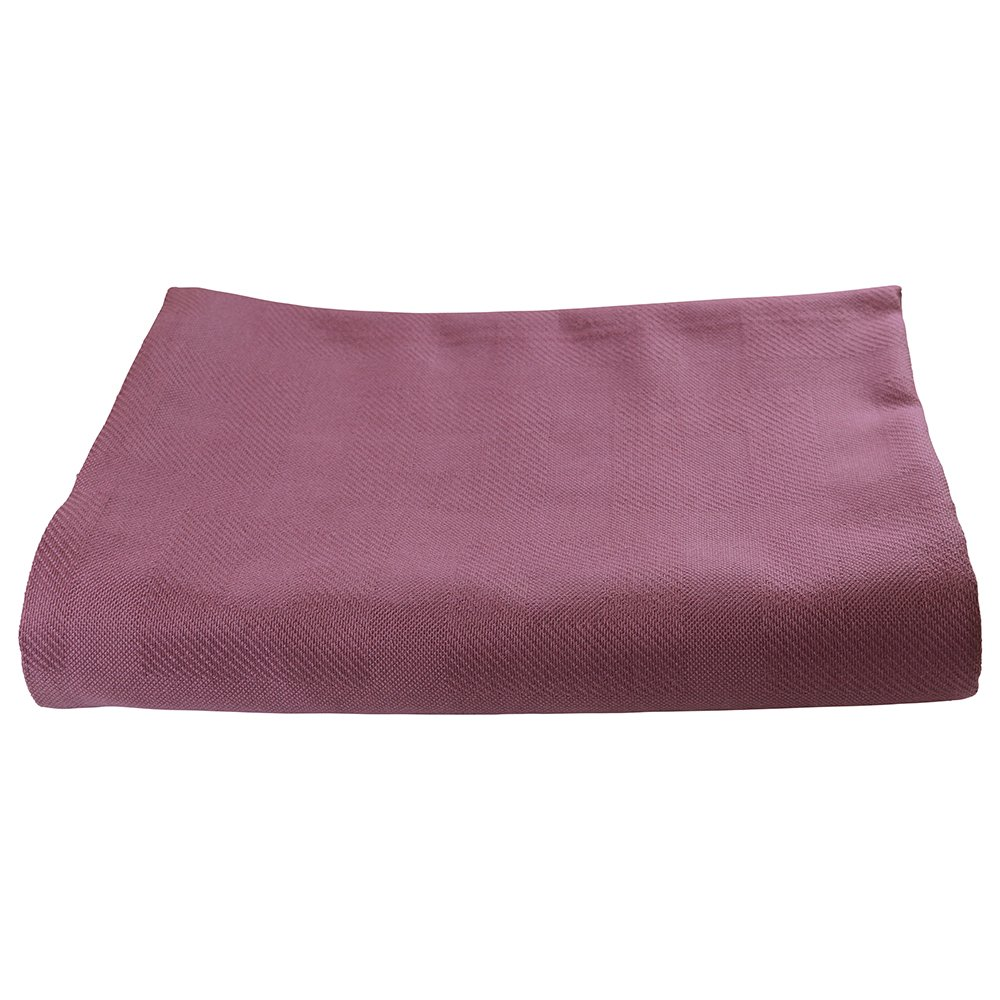 Sigmatex BK741084SGRB Healthcare Thermal Spread Blanket, Snag Free, 55% Cotton/45% Polyester, 74'' Width 108'' Length, 4.0 lb/ea., Raspberry, (12 ea)