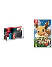 Nintendo Switch Neon with Pokemon: Let's Go! Eevee! (Nintendo Switch)