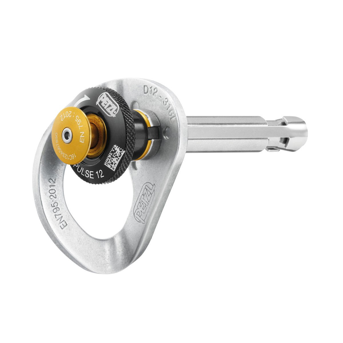 Petzl 2018 COEUR PULSE 12mm Removable anchor with locking function