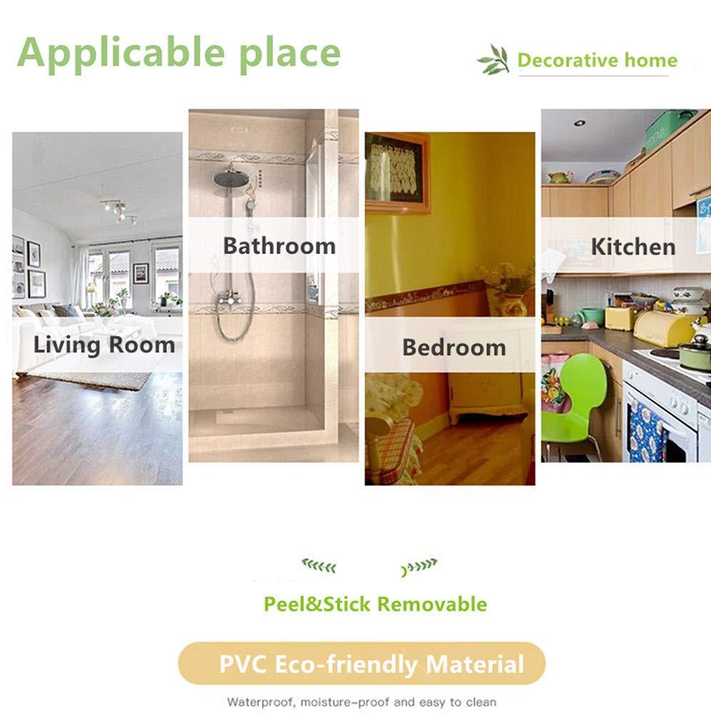 salon cuisine 10 cm par 5 m Bordure d/écorative pour salle de bain