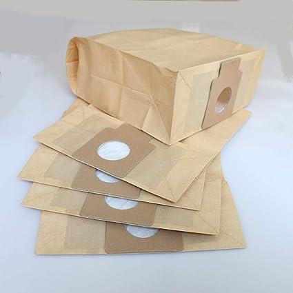 Paquete de 5 bolsas de papel para aspiradora Panasonic C-11, MC-2700, MC-2760, MC-4760, MC-4950, MC-4760R, MC-4860, MC-E8000 y MC-E8010: Amazon.es: Bricolaje y herramientas