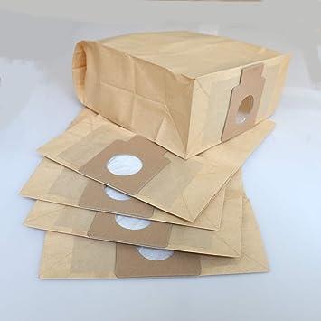 Paquete de 5 bolsas de papel para aspiradora Panasonic C-11, MC ...