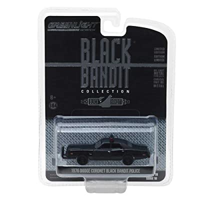 GL Greenlight 1:64 Scale Black Bandit Series 18 1976 Dodge Coronet: Toys & Games