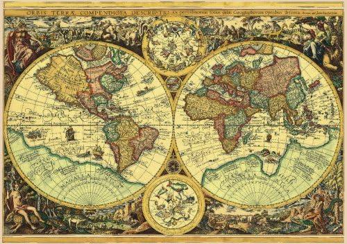 Schmidt Puzzle Mapa Historico Mundo: Amazon.es: Juguetes y juegos