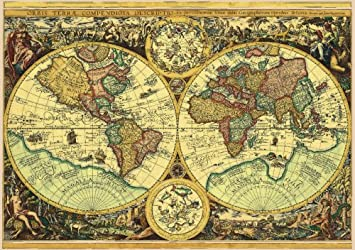 Schmidt historical map of the world adult jigsaw puzzle 1000 pieces schmidt historical map of the world adult jigsaw puzzle 1000 pieces gumiabroncs