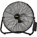 Lasko Stanley 655650 20-Inch High Velocity Floor or Wall mount Fan, Black