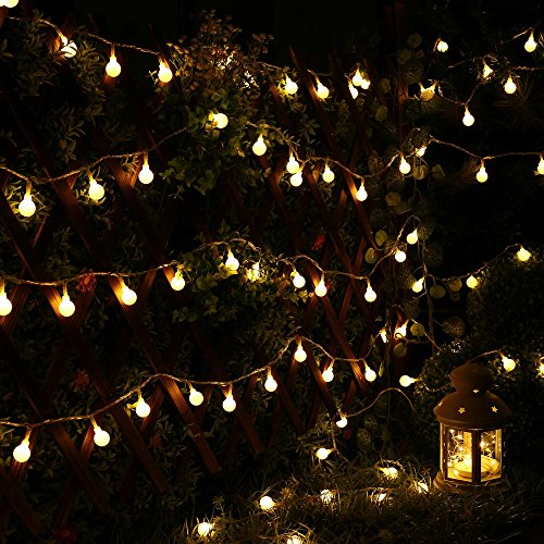 String Lights Za : Icicle Globe Lights String, 33ft/10m 100 LED String Lights, - Import It All