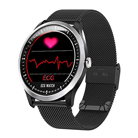 Amazon.com: XFUNY N58 ECG Reloj deportivo HRV informe ...