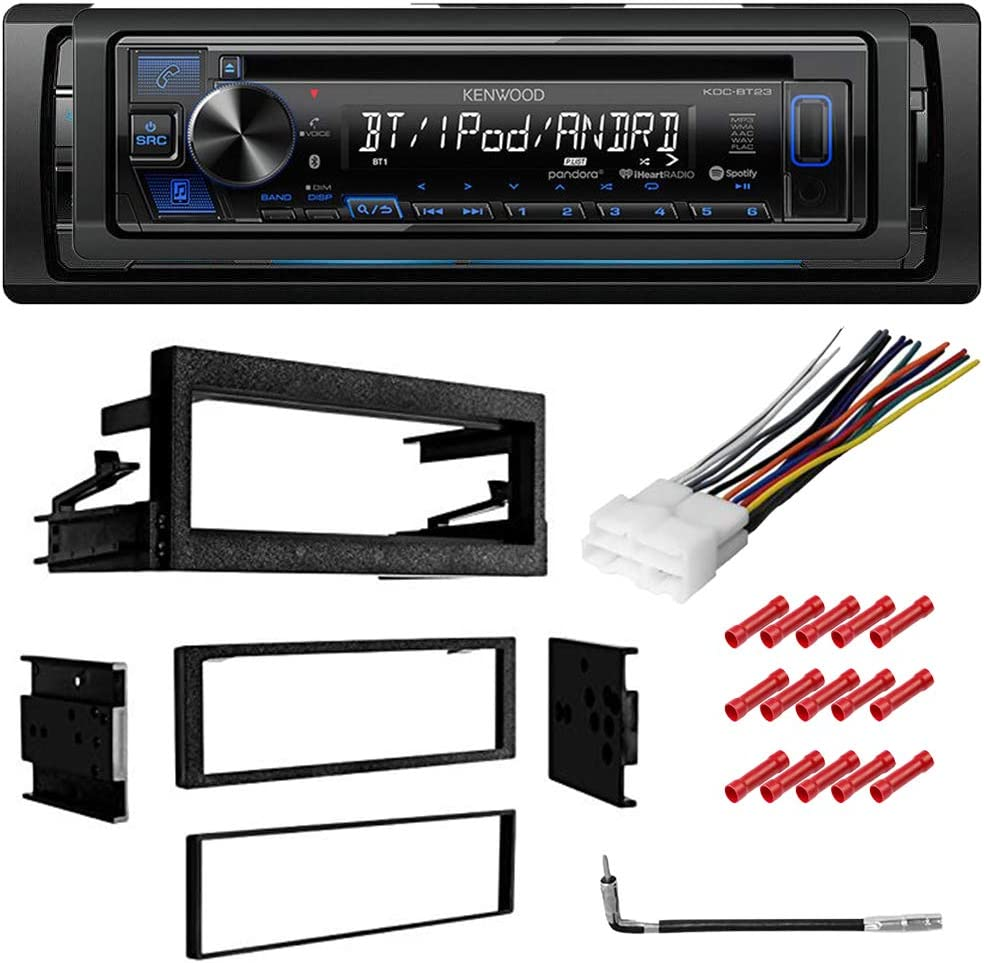 Sony Bluetooth Stereo Media Player Dash Install Mount Kit Harness Marine No CD