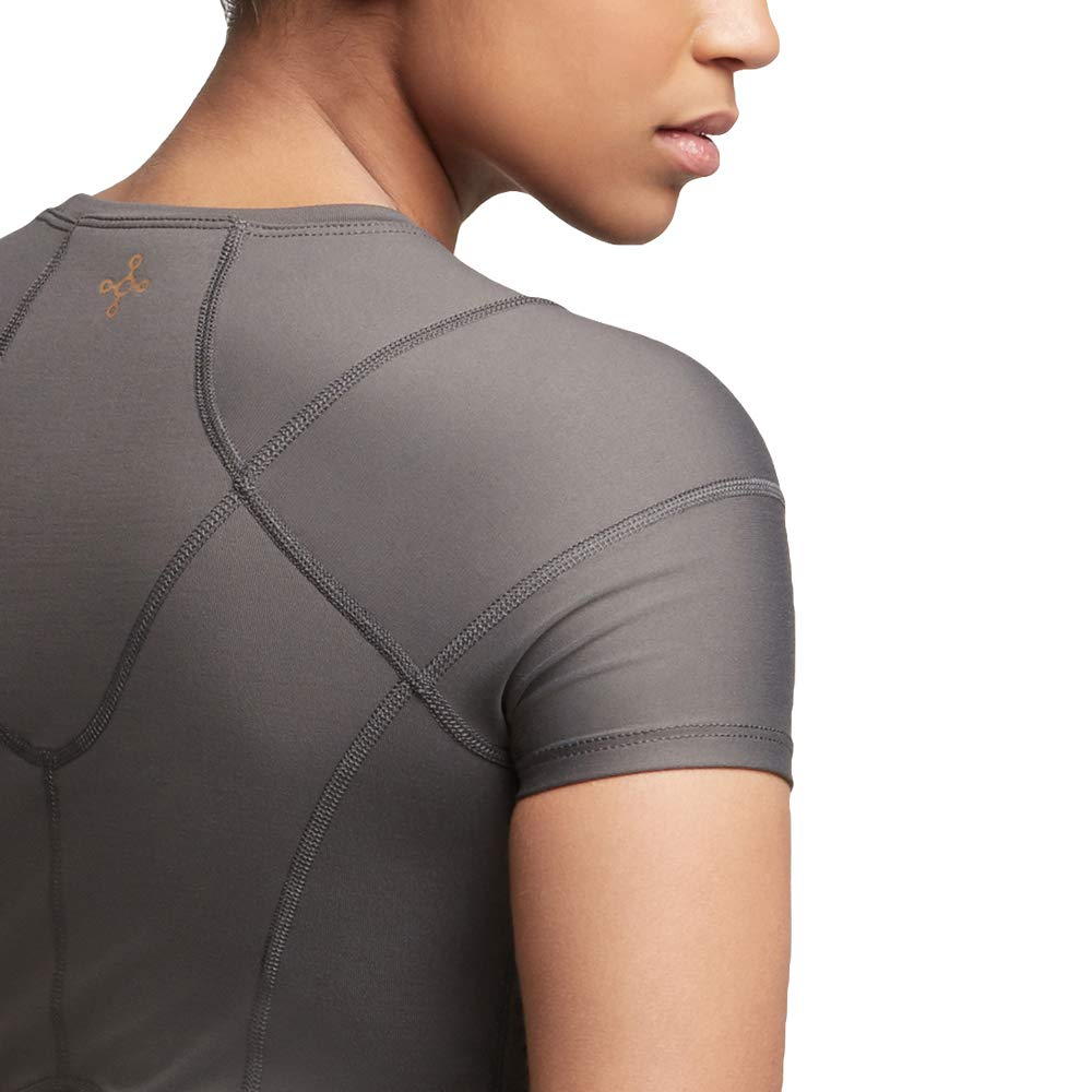 Tommie Copper Women's Pro-Grade Shoulder Centric Support Shirt, Slate Grey, Medium by Tommie Copper (Image #5)