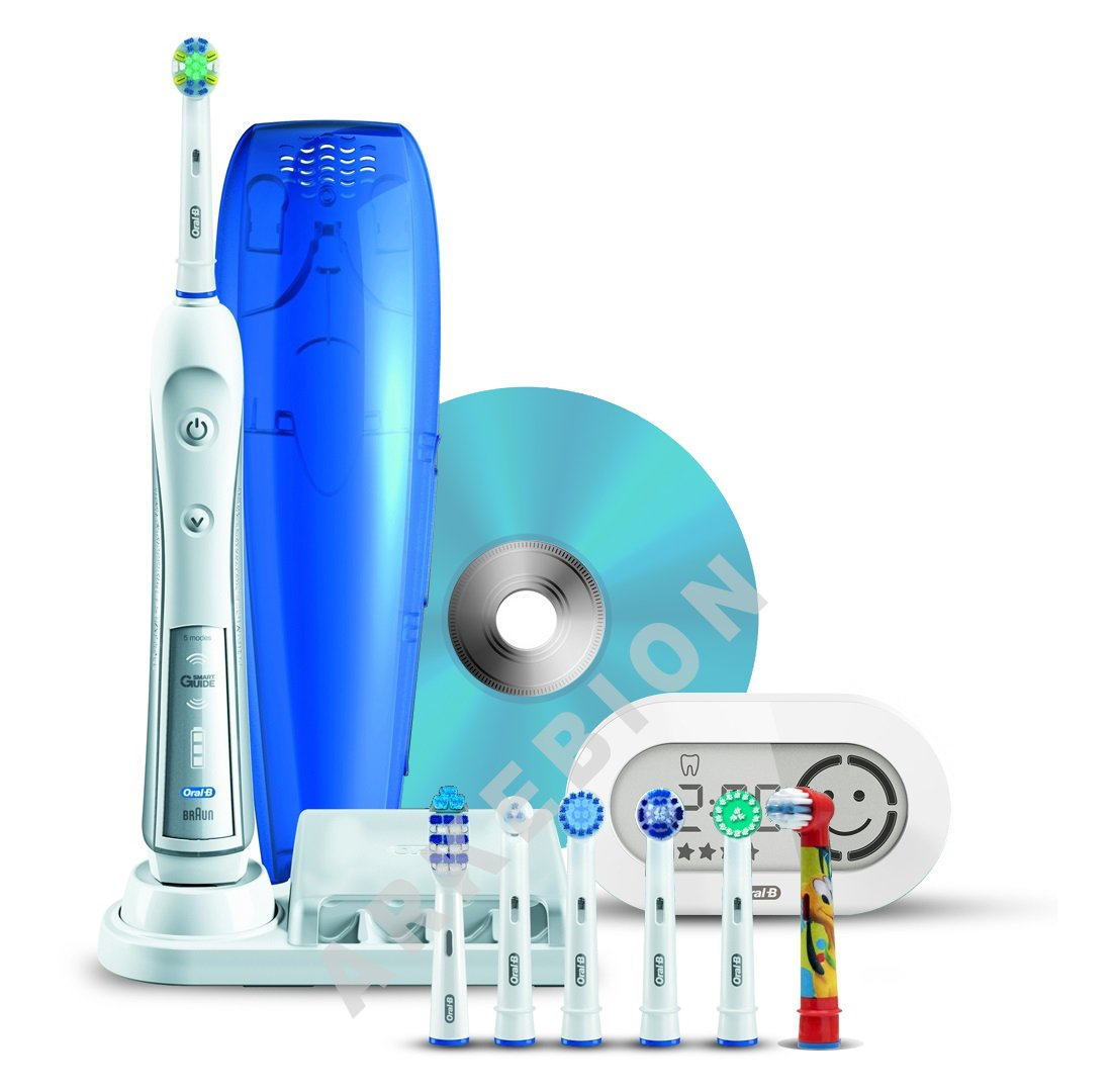 Brosses à dents électriques ORAL B TRIZONE5000 BLANC