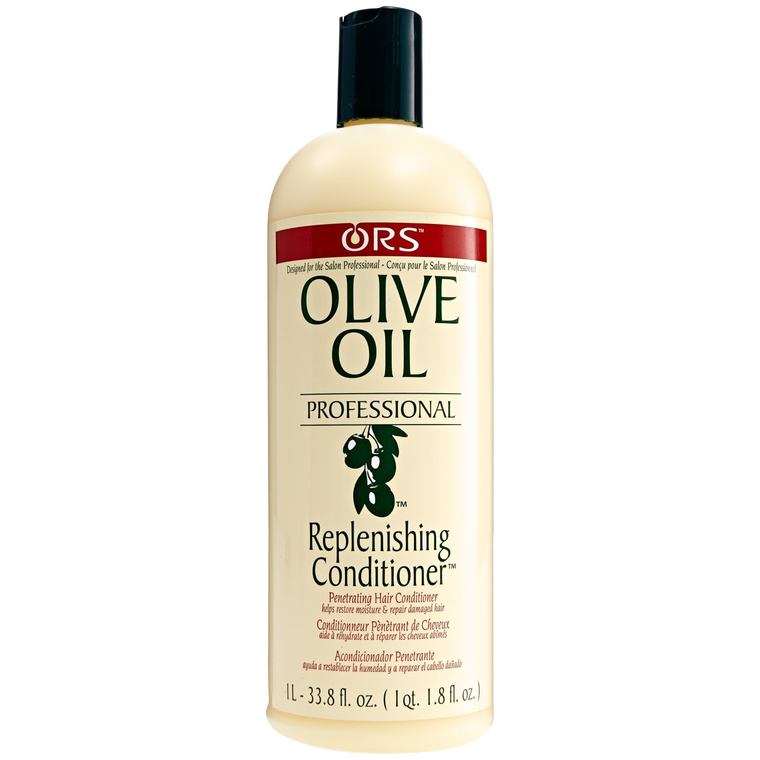 Organic Root Stimulator Olive Oil Professional Replenishing Conditioner, 33.8 Ounce