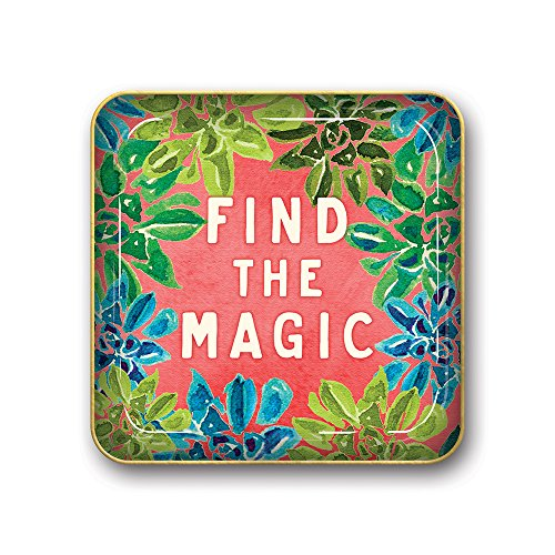 Studio Oh! Small Metal Catchall Tray Available in 12 Different Designs, Justina Blakeney Find the Magic