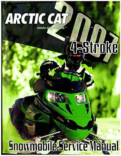 2257-768 2007 Arctic Cat All 4-Stroke Snowmobile Service Manual pdf epub