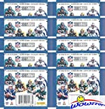 #9: 2018 Panini NFL Football Stickers Collection with 10 Factory Sealed Sticker Packs & 50 MINT Stickers! Look for Stickers of NFL Superstars & Rookies Including Tom Brady,Todd Gurley,Aaron Rodgers & More