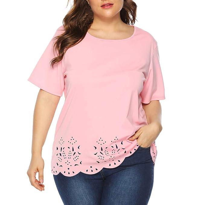 Amazon.com: Rockia - Blusas para mujer, tallas grandes ...
