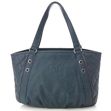 a1e80aea48b9 Puma Hazard Shoulder Tote Bag (Teal Blue)  Amazon.co.uk  Clothing