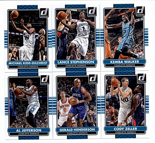 2014-15-donruss-basketball-team-set-veterans-charlotte-hornets-6-cards-michael-kidd-gilchristlance-s