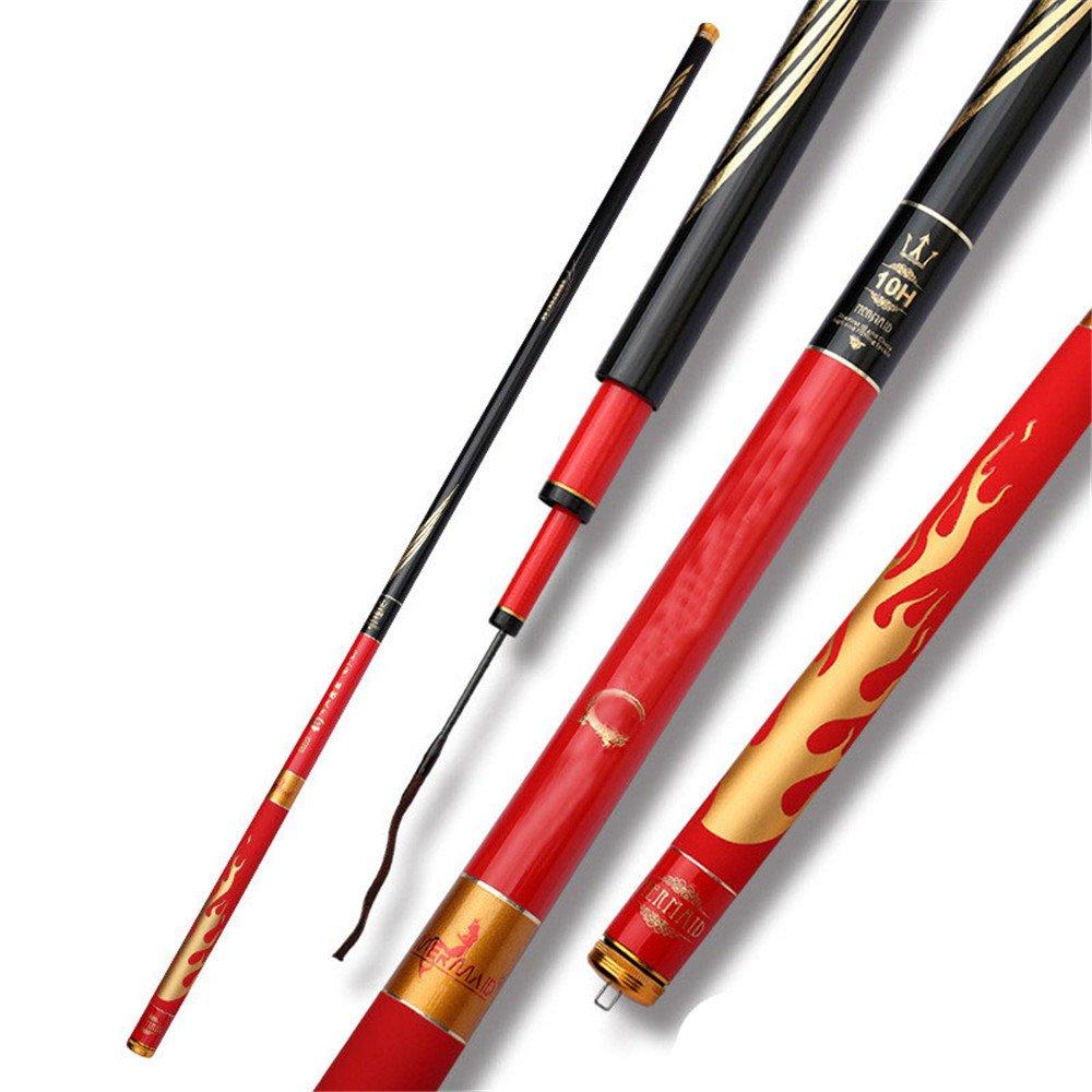 スピニングフィッシングロッドポータブルフィッシングロッド 釣りロッド釣り用品釣りロッド超軽量スーパーハード19海岸のマグロ釣り竿は池の河川に適しています。   B07PYQCV2L