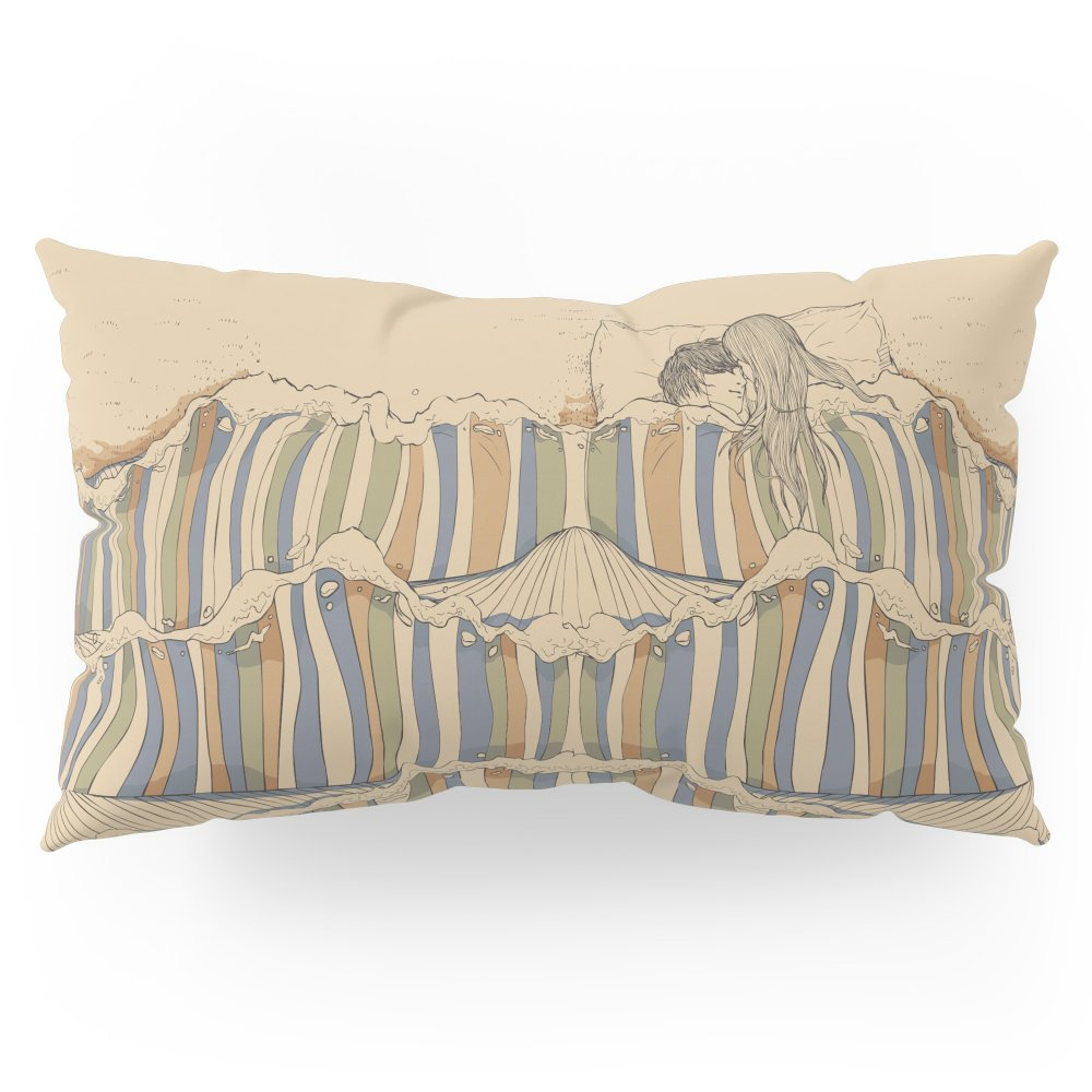 Society6 Ocean Of Love Pillow Sham King (20'' x 36'') Set of 2