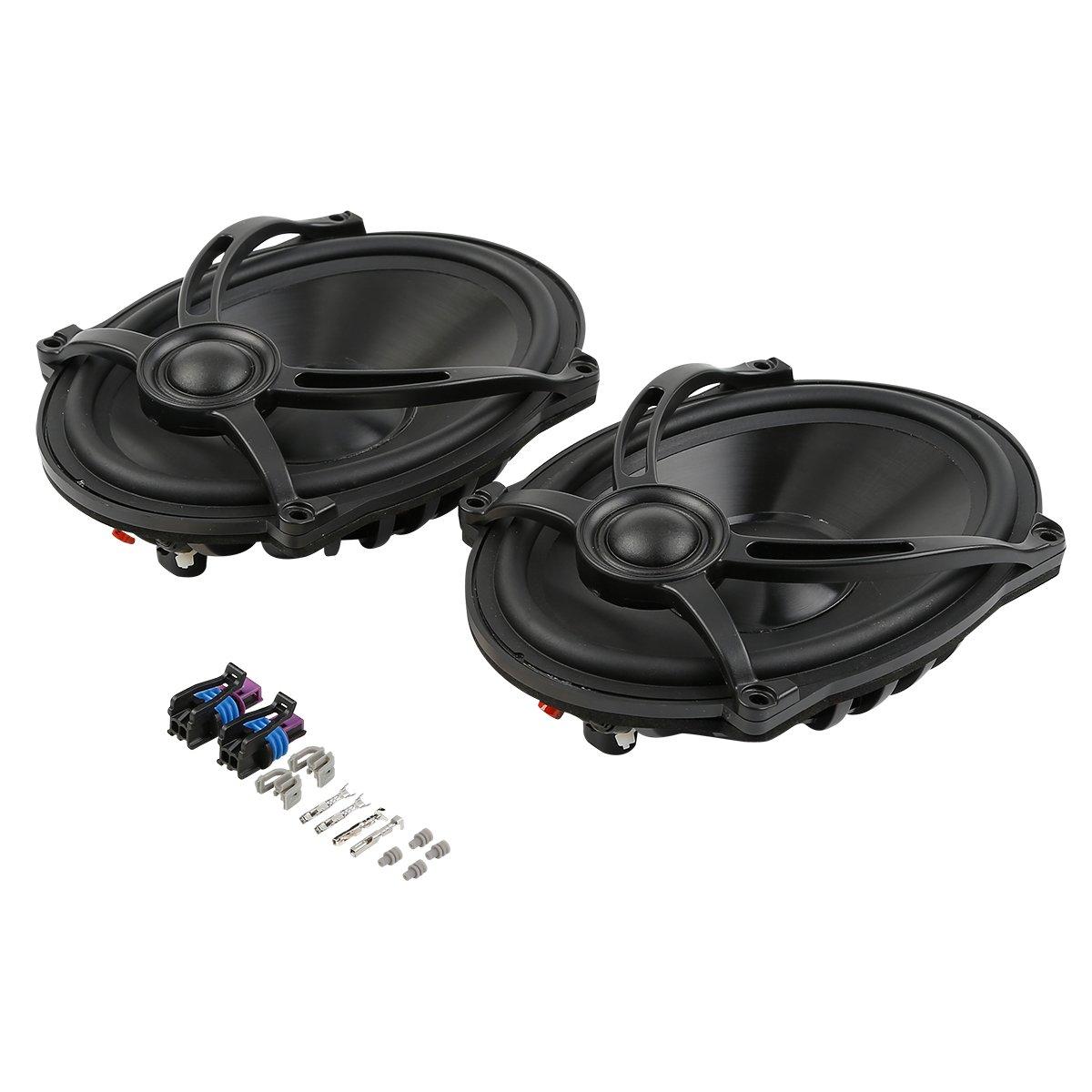 XMT-MOTO 5'x7' Saddlebag Lid Speaker For Harley Touring Road King Electra Glide 1994-2018