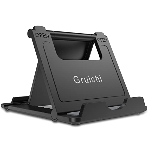 Fantastic Adjustable Cell Phone Stand Gruichi Iphone Stand For Desk Tablet Stand Multi Angle Desk Phone Dock Holder For Iphone 8 X 7 6 6S Plus Samsung S7 S6 Download Free Architecture Designs Meptaeticmadebymaigaardcom