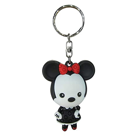 Llavero Disney Minnie Mickey Monogram Goma 7 cm Serie 3 ...