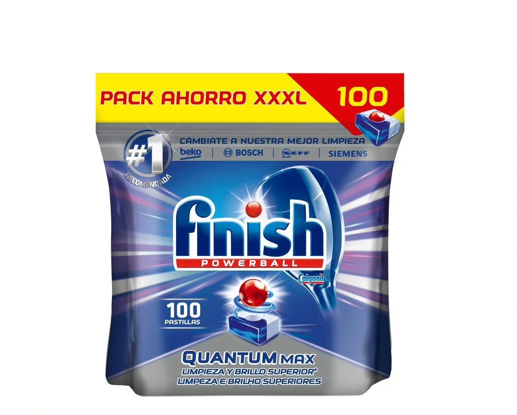 Finish Quantum Regular Detergente para Lavavajillas - 100 ...