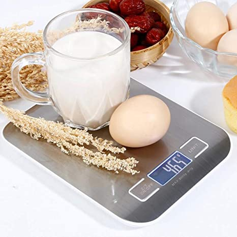 Báscula de Cocina de Precisión, 5kg/1lbs, Báscula Digital de Cocina, Función