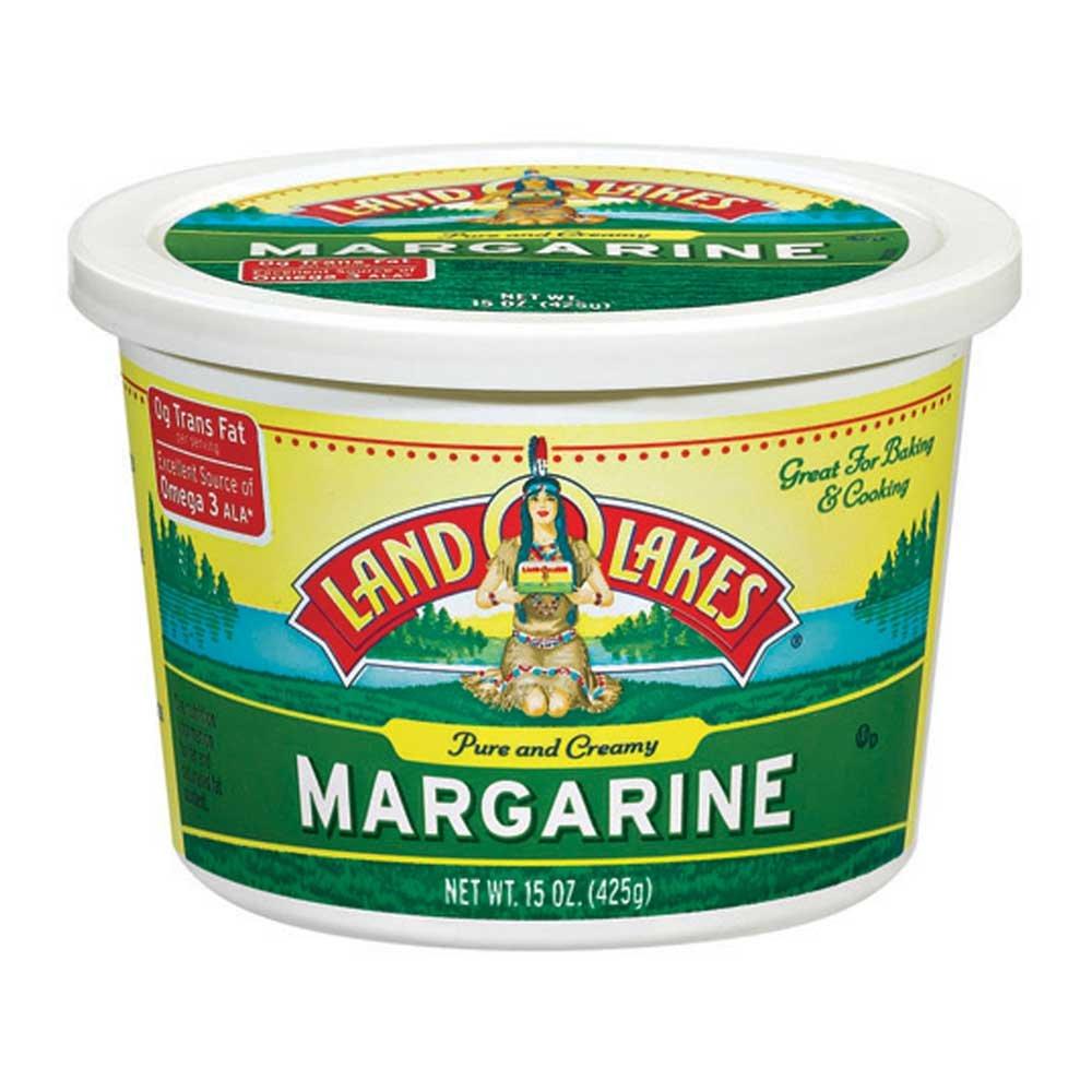 Land O Lakes Margarine Bowl, 15 Ounce -- 12 per case.