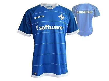 Craft SV Darmstadt 98 Home Camiseta de fútbol Azul fútbol Jersey Bundesliga 18/19,
