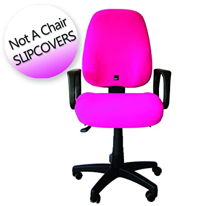 Office Chair Slipcover   Seat X   One Size Fit All, Adjustable Full Cover.