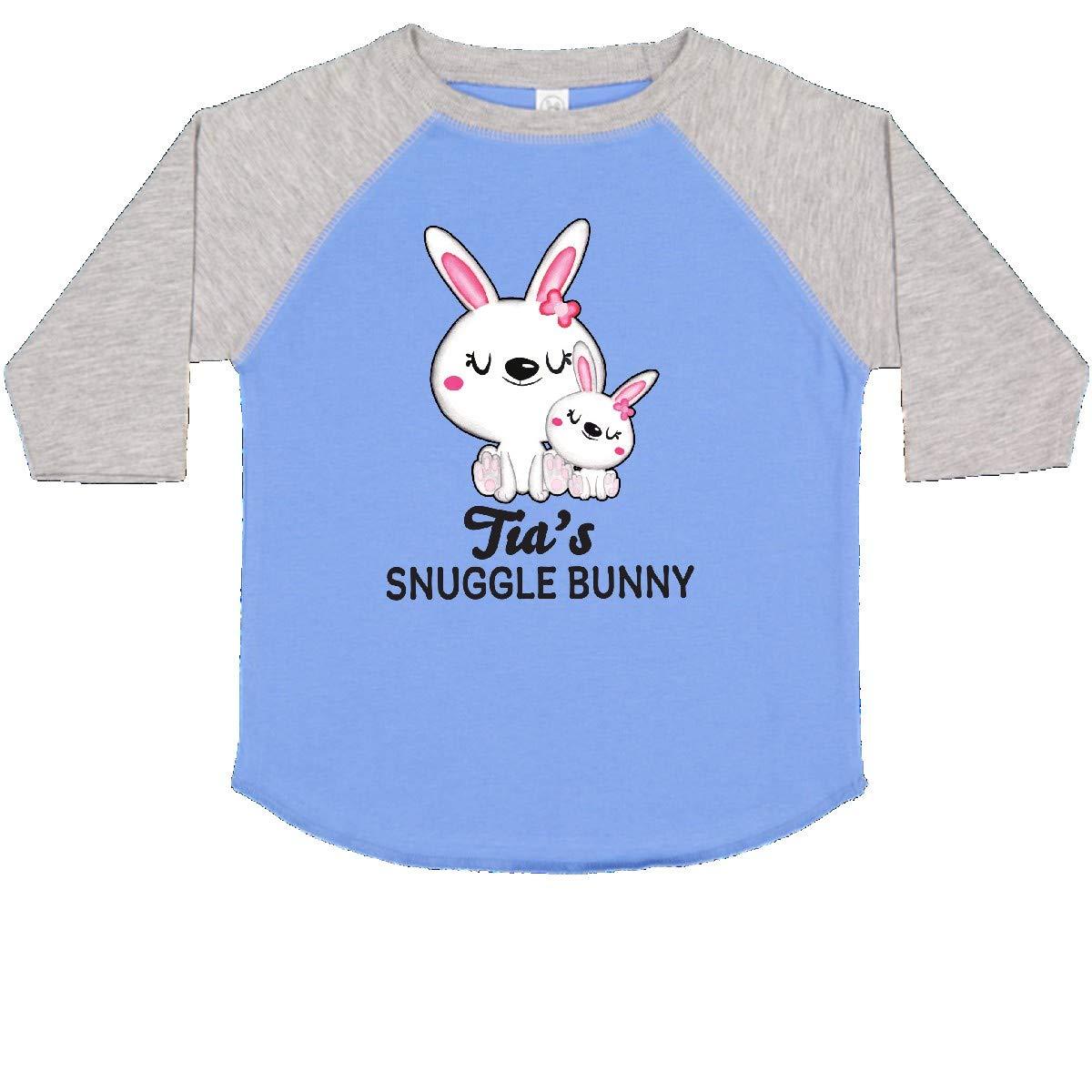 inktastic Tias Snuggle Bunny Easter Toddler T-Shirt