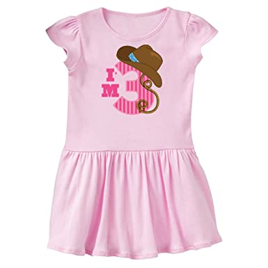 Amazon Inktastic 3rd Birthday Girls Cowgirl Outfit Toddler