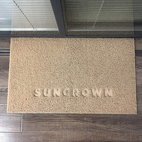 Suncrown Outdoor Doormat Waterproof Door Mats Easy Clean Non Slip Door Mat For Entry Patio 17 7 X 29 5 Inchs Pvc