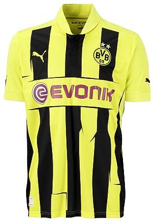 promo code edc7c 36452 2012-13 Borussia Dortmund Puma UCL Home Shirt, Clothing ...