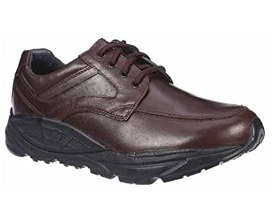 Oracle II Men's Comfort Therapeutic Extra Depth Casual & Hiking Shoe Leather Lace-up