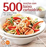 capa de 500 Receitas com Baixo Carboidrato