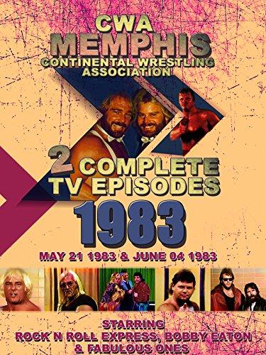 (CWA Memphis Wrestling 2 Complete TV Episodes 1983)
