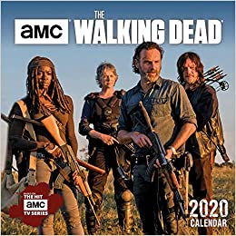 2020 Walking Dead Calendar Buy The Walking Dead   Amc 2020 Calendar Book Online at Low Prices