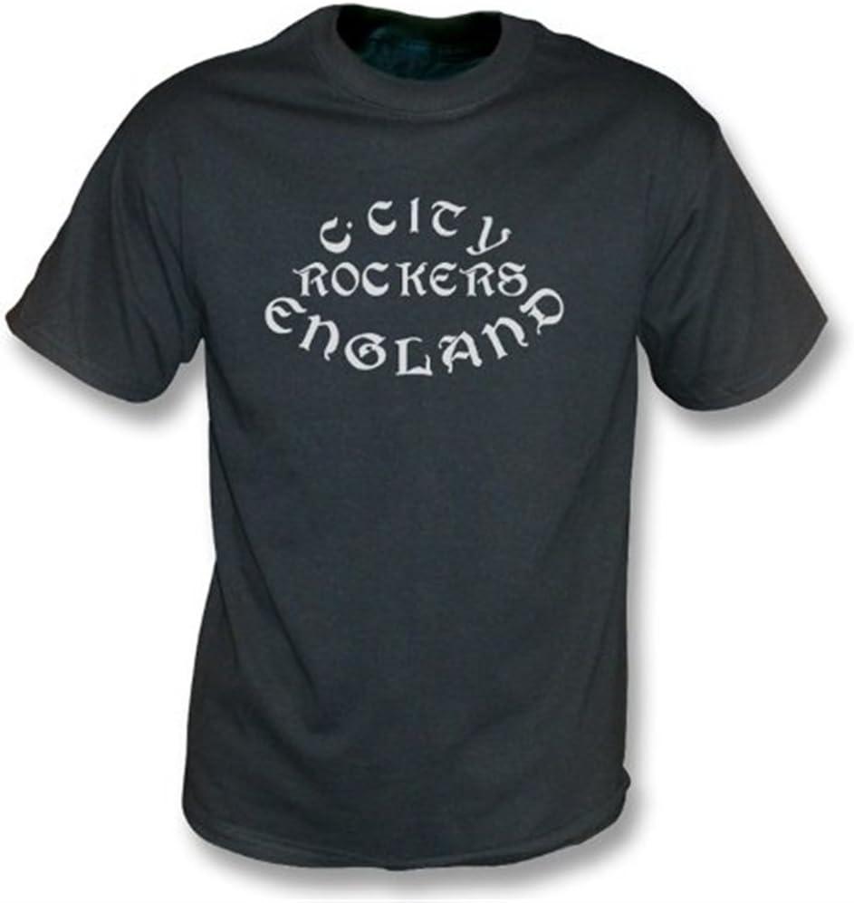 Clash City Rockers vintage wash t-shirt Girls Slimfit as worn by Joe Strummer