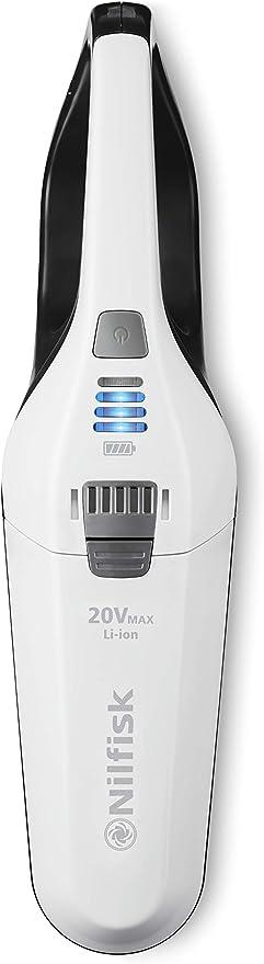 Nilfisk Aspirador de Mano Quick 20V-sin Bolsa y sin Cable, 6 litros, Plástico, Blanco: Amazon.es: Hogar