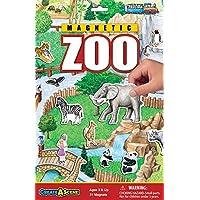 Juego de juego magnético Create-A-Scene - Zoo