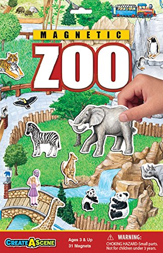 Create-A-Scene Magnetic Playset - Zoo