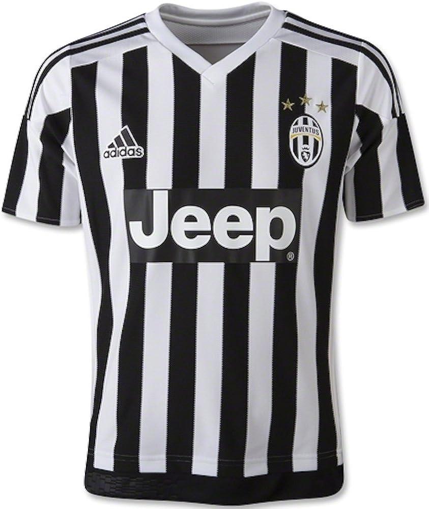 adidas Juventus Home Youth Soccer Jersey 2015/16