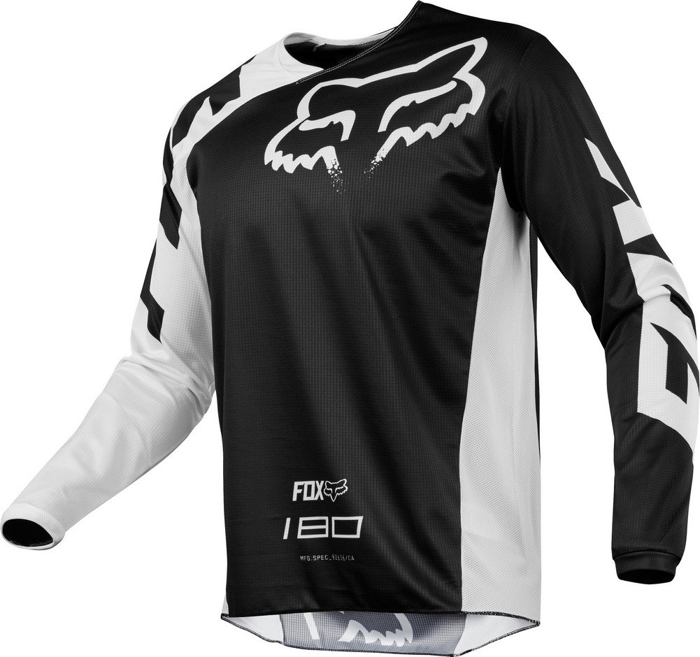 Fox Racing 2018 180 Race Jersey-Black-XL by Fox Racing
