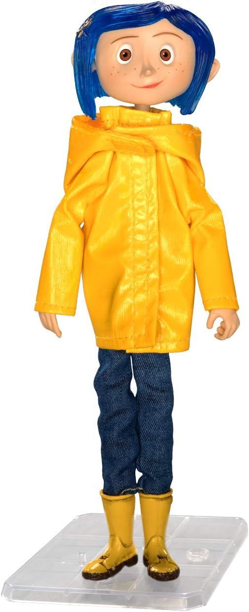 Amazon Com Neca Coraline Articulated Figure Coraline In Rain Coat Toys Games